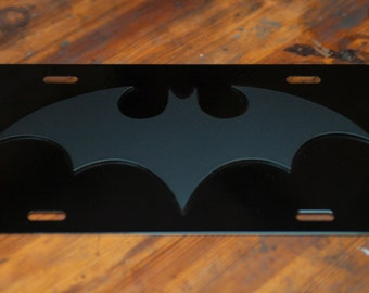 Batman Gothem Knights - Blacked Out License Plate