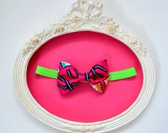 Headband elastic 'average' node