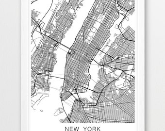 New York City Map New York Map Manhattan Map City Map New York - New york city map drawing