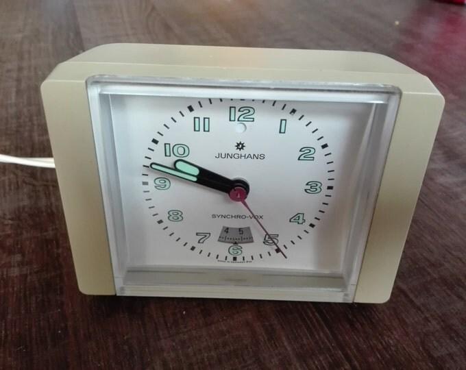 Junghans synchro-vox alarm clock