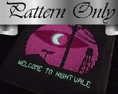 Welcome to Night Vale Cross Stitch Pattern