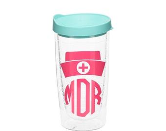 Nurse Tumbler - Nurse Cup - Nurse Gift - Nurse Appreciation - Personalized Nurse Cup - Gift for Nurse - Nurse Gift Idea, RN Tumbler - CNA
