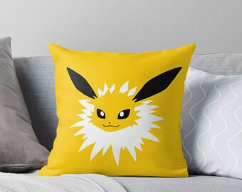 Eevee Evolutions Throw Pillows: Pokemon Inspired Filled Cushions