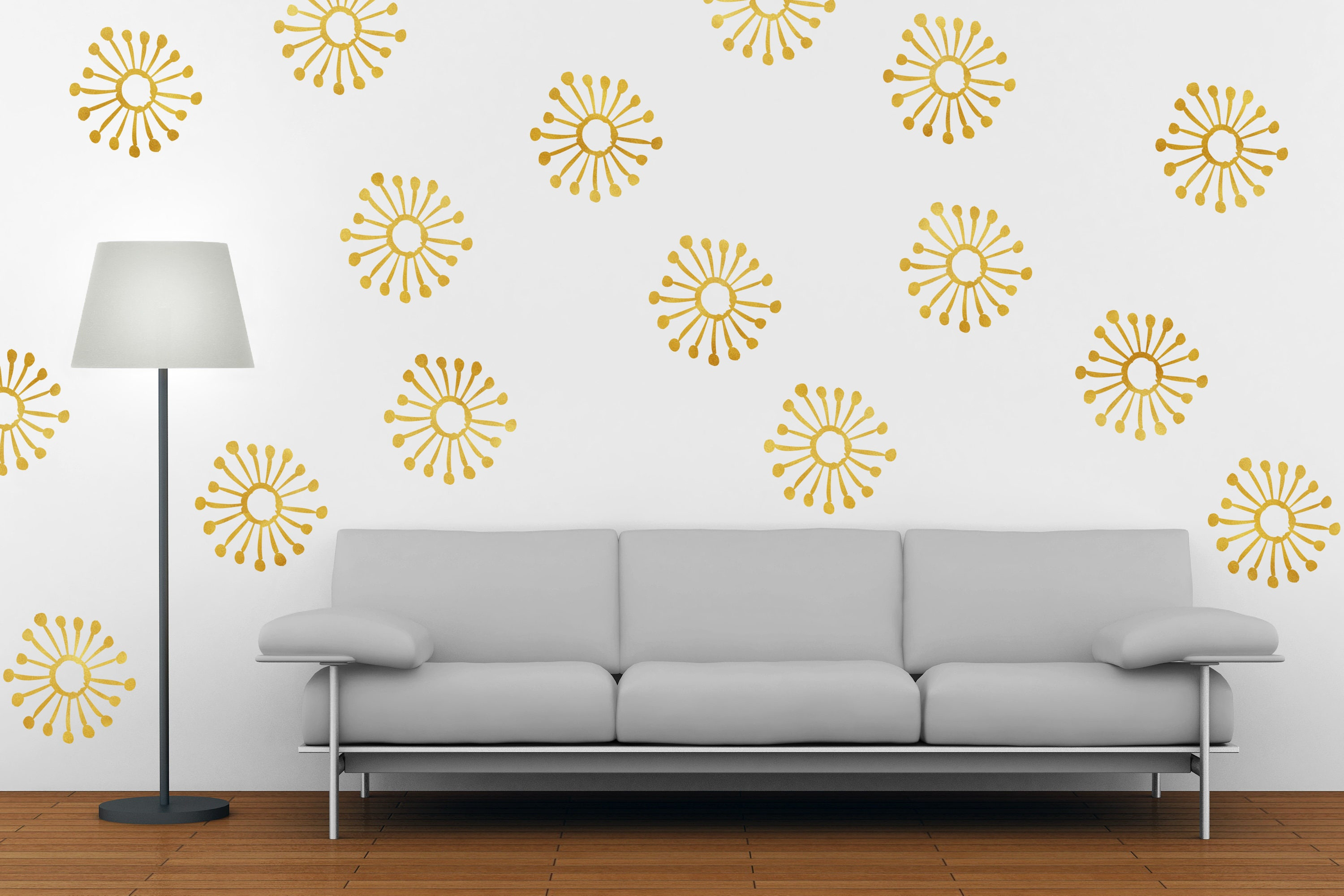 Dandelion Wall Decal   Dandelion Wall Decor   Vinyl Wall Decal   Dandelion    DandelionDecals   Home Decor  Dandelion Wall Art
