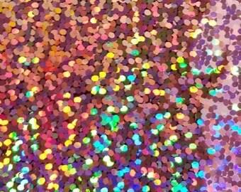 "SALE!! Rose Gold Holographic Vinyl Light Pink Holographic Adhesive Vinyl 12x12"" Sheets Permanent Vinyl Oracal 651 Equivalent Vinyl"