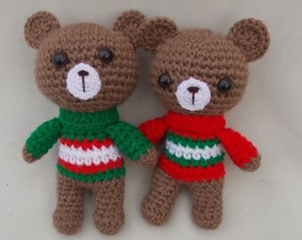 Teddy Bears Crochet Toy Gift Amigurumi Will be made JUST FOR YOU