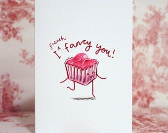 French Fancy Valentine's Card