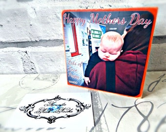 Mothers Day Photo Block Gift