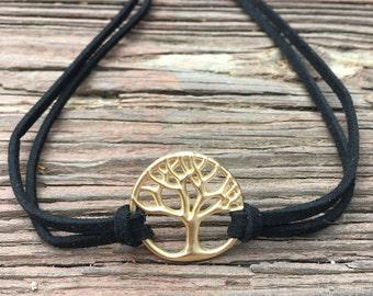 Golden Tree of Life Choker