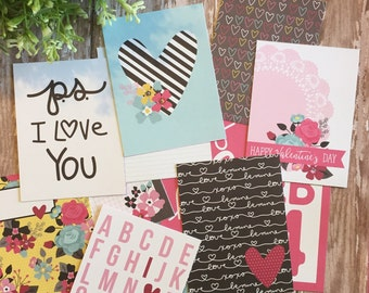 Love & Adore Project Card Pack