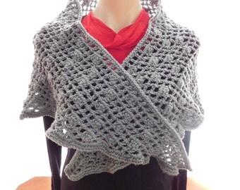 crochet handmade shawl