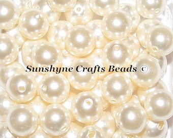 Swarovski Crystal 5810 Simulated Pearls - LIGHT CREAMROSE Round Beads - Sizes 4mm, 6mm & 8mm available