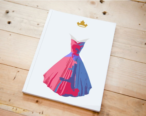 Hardcover character journal minimalist choose a character for Minimal art journal