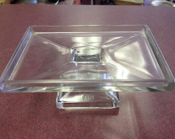 Clarks Teaberry Gum Glass Store Display Tray