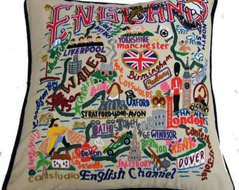 England Cushion (11131)