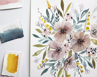 Dreamy Floral Print