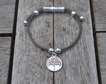 Tree of life and cotton String Bracelet