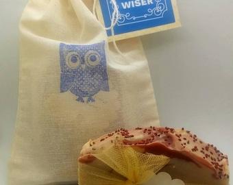 Soap gift bag, Teacher Appreciation--FREE SHIPPING