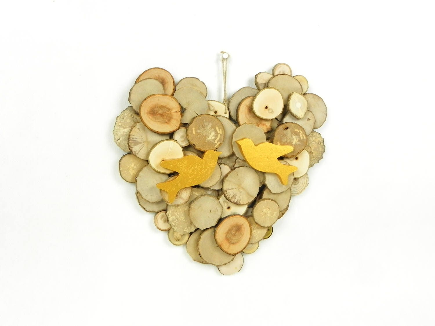 Contemporary Wooden Heart Wall Decoration Photo - All About Wallart ...