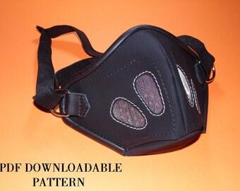 pdf mask pattern ,dieselpunk mask pattern .steampunk mask