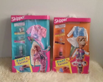 90s Skipper Clothes NIB Paint n' Dazzle set of 2, Skipper Clothes, Skipper Doll.