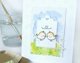 Handmade Card - Love Theme