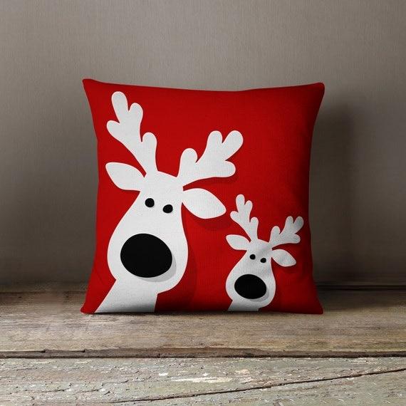 Cojines de navidad almohadas de vacaciones por wfrancisdesign for Comprar cuadros grandes baratos