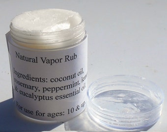 Handmade Vapor Rub