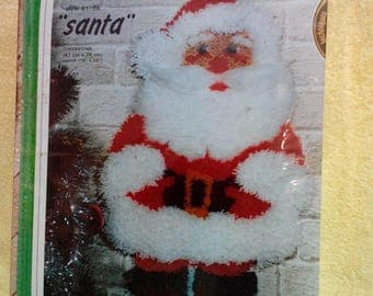 Latch Hook Kit-Santa Wall Hanging