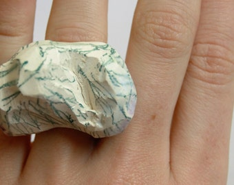 Contemporary Quirky Ceramic Ring