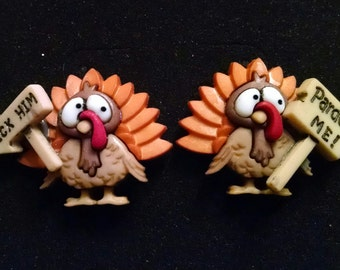 Turkey Pardon me! earrings
