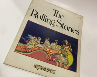Special Edition Vintage Rolling Stone Magazine Ft Rolling Stones 1975 Mick Jagger, Keith Richards and Gang