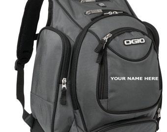 Custom Breakfast of champions. OGIO Metro Backpack