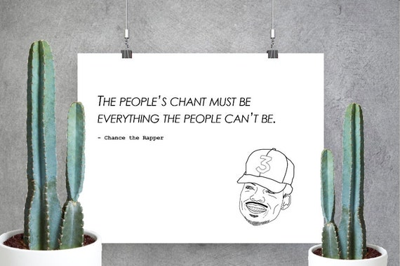 Chance The Rapper Print Custom Print Coloring Book Acid