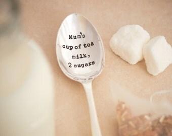 Mum's Cup Of Tea Teaspoon