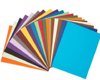 Darice® Cardstock Value Pack - Assorted Colors - 8.5 x 11 - 200 sheets, 65lb cardstock
