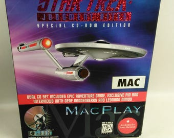 Star Trek: Judgement Rites/Special 2 Cd-Rom Edition/MacPlay/Adventure Game/Interviews With Gene Roddenberry and Leonard Nimoy (U)