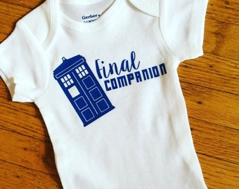 Doctor Who Birth Order Onesie