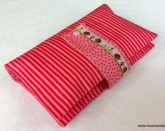 Diaper bag diaper bag: Hedgehog & mushroom