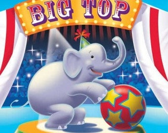 Ringling Brothers Circus  ''Big Top'' Luncheon Paper Napkins 16ct