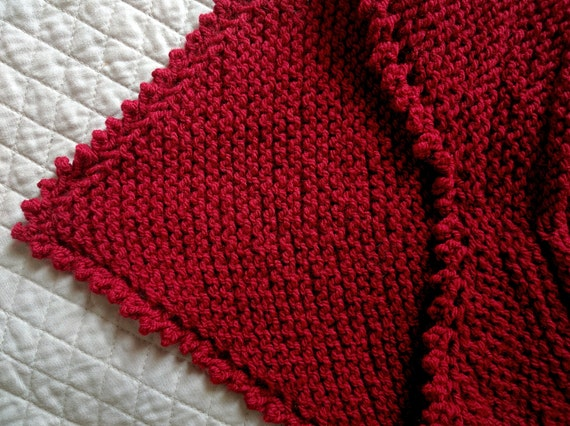 Free Knitting Patterns For Beginners Baby Blanket : Knit Bandana Scarf Pattern, Knit Triangle Scarf Pattern, Infinity Triangle Kn...