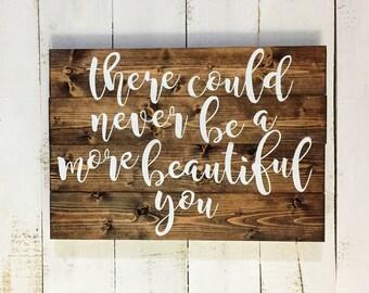 Custom wood sign, custom quote on wood