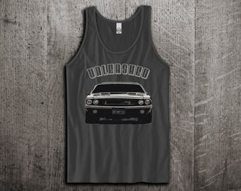 Dodge Challenger Tank Top, Dodge t shirts, Classic Challenger shirts, cars tanks, Dodge shirts, cars t shirts, Muscle cars Unisex Tank tops