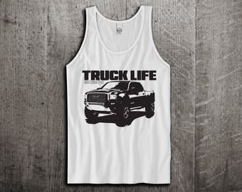 GMC Truck Tank Top, Trucker t shirts, raised tricks shirts, cars tanks, gmc shirts, truck life t shirts, Unisex Tank top, Motomotive trucks