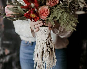 Macrame Bouquet Piece