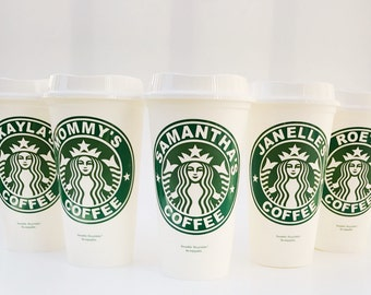 Personalized Starbucks Coffee Cup - Personalized Reusable Coffee Tumbler - Custom Starbucks Cup - Reusable Coffee Mug
