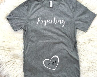 Pregnancy Reveal shirt, pregnancy Announcement shirts, Daddy to be Shirt, Couples shirt, Mommy to Be Shirt, Mom to Be, Expecting