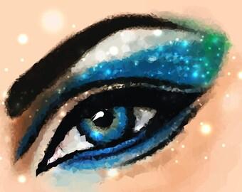 Eye Pattern Digital Art