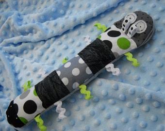 Stuffed caterpillar