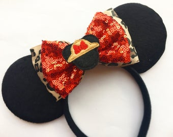 Safari Minnie inspired mouse ears